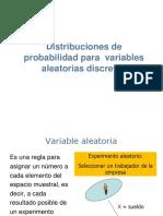 8. Variables Aleatorias Discretas