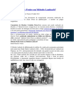 Método Paulo Freire Ou Método Laubach