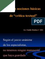 102 Nociones de CritText 2013