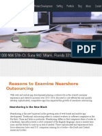 Reasons to Examine Nearshore Outsourcing