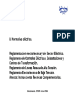Tema 8_IE. Normativa Electrica