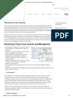 Primavera Cost Controls _ CDP Inc