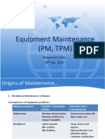 WCM - Equipment Maintenance