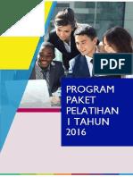Agenda Pelatihan Jaya Institute 2016
