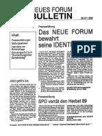 1990-07-26 Neues Forum Bulletin 01