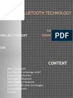Project Report-bluetooth Technology