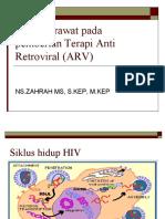 Peran Perawat Anti Retroviral