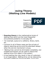 Queuing Theory and Simulation