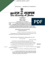 NI Act Amendment, 29.12.2015