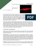 Understanding Loss in Fiber Optic