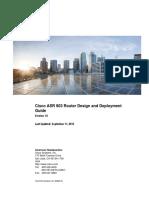 ASR 903 Design Doc