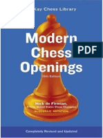 Modern Chess Openings 15th Edition