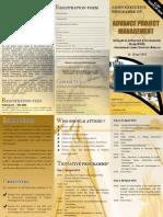 Brochure APM 310310