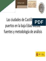 Las Ciudades de Castilla y Sus Puertos e