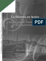 La Historia en Activo. Actas de Las Jorn