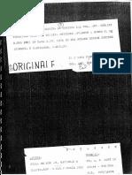 Mostro di Firenze - Perizia sul Delitto del 1974 di Zuntini