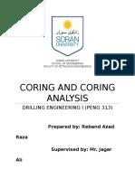 Coring & Coring Analysis 2