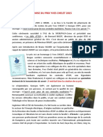 Prix Yves Chelet 2015