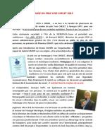Remise Du Prix Yves Chelet 2015 à Georges SAPY