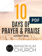10 Days of Prayer and Praise Devotional