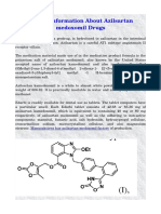 A Brief Information About Azilsartan Medoxomil Drugs