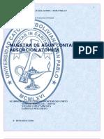Lab 1. Agua Contaminada-Absorcion Atomica