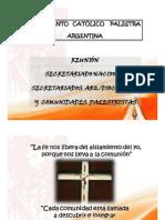 Palestra Argentina - SN-Secretariados - 27y28Marzo2010