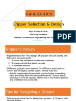 Robotic Gripper Design