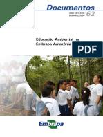Educação Ambiental na Embrapa Amazônia Ocidental