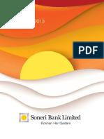 Soneri Bank a-report 2013 Final