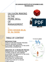 Decision Making Project