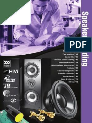 Speacher building.pdf | Amplifier | Loudspeaker on