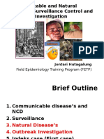 Pertemuan I (Communicable Disease Epidemiology, Surveilans and Control)