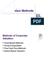Valuation Methods (2010)