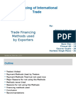 Financing of International Trade