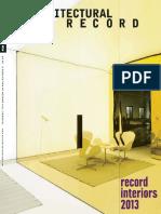 Architectural record 2013.09