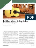 Make a steel Guitar