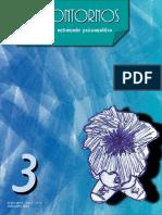 Revista Sin Contornos 03 (Espacio de entramado psicoanalítico)
