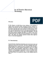 Principle of Passive Electrical Circuit Modeling - Graph Theory