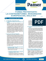 HU_Sem_8_La reforma protestante-La contrareforma - Monarqu+¡as europeas del siglo XVI