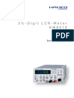 Hameg HM-8018-2-Digital LCR Meter, service manual.pdf