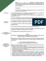 Réglementation Marocaine sécurité incendie