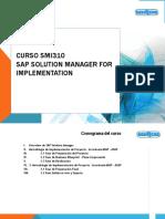 Curso SAP Solution Manager