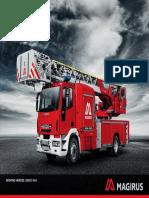 Broschuere Magirus Neues Drehleiter Design Deutsch