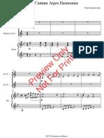 Instrumental - Cantam Anjos Harmonias