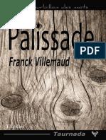 EXTRAIT du roman « Palissade » de Franck Villemaud