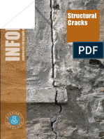 Cracks in Load Bearing Wall Structures for Settlement