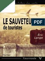 EXTRAIT du roman « Le Sauveteur de touristes » d'Éric Lange