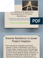 traumatology institute - israeli trauma resilience study final