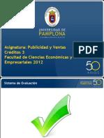 Publicidad Primera Clase 2012